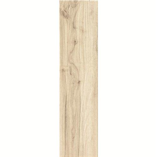 150X600mm Brown Color Ceramic Pattern Wood Look Floor Tile In Foshan DH156R6A16