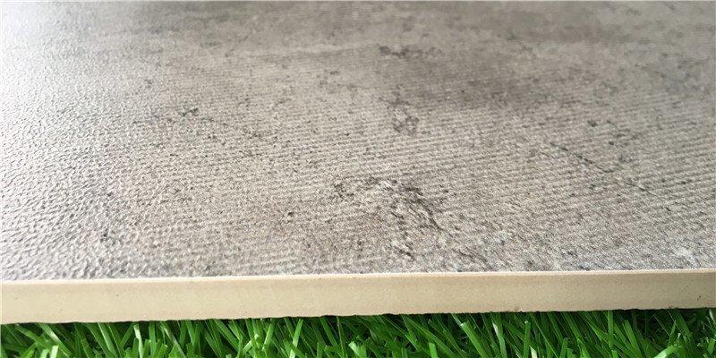 porcelain tile that looks like cement tile glossy polished teak LONGFAVOR Brand rustic tile