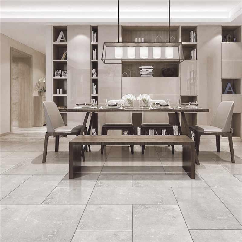 LONGFAVOR 60x60cm Moden Non Slip Porcelain Floor Tiles JC66R0E09 Inkjet Cement Floor Tiles image7