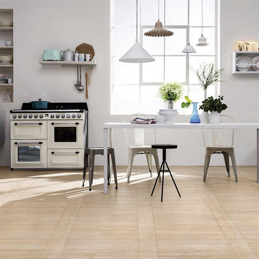 oak wood effect floor tiles modern rusty wood look tile planks hot sale LONGFAVOR Brand