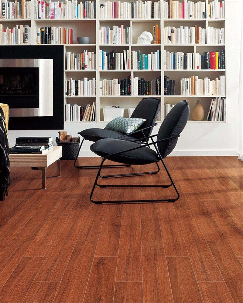 LONGFAVOR ceramic tile flooring that looks like wood