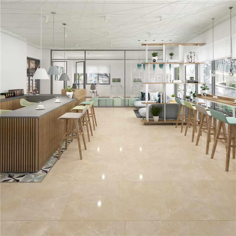 24''x48'' Beige Color Marble Look Large Porcelain Tiles Y12D6005