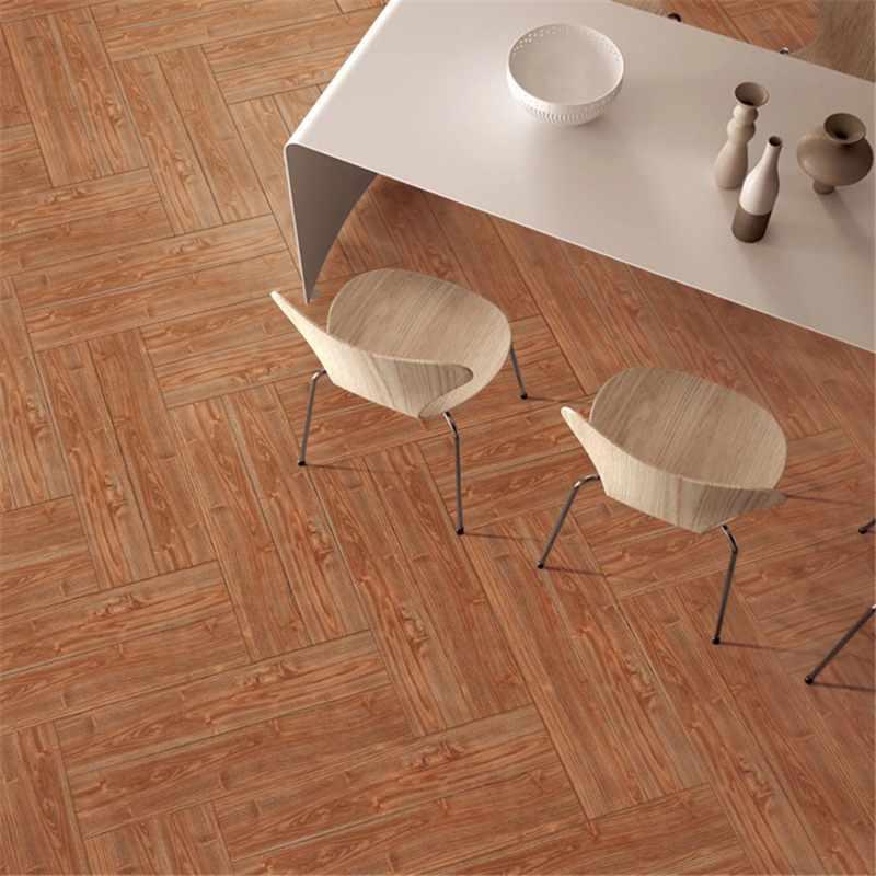 LONGFAVOR 150X800/6x32 Brown Wood-look Ceramic Tile P158037M 150x800mm Wood-look Ceramic Tiles image29