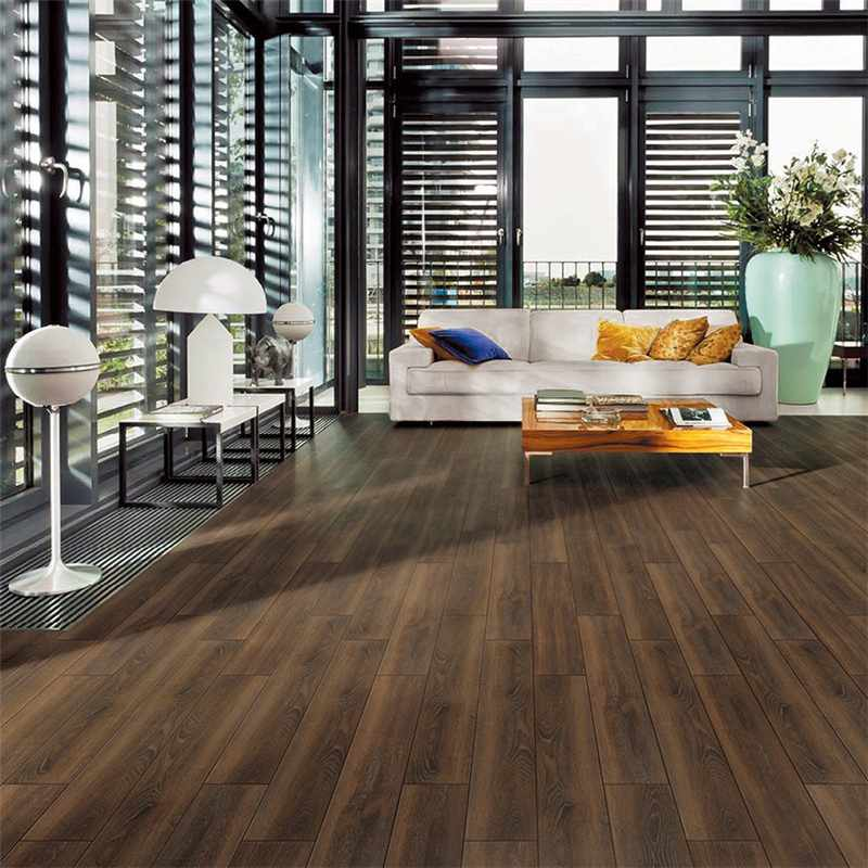 LONGFAVOR 150X800 Brown Wooden Ceramic Tile DH158R6B23 Flooring 150x800mm Wood-look Ceramic Tiles image13