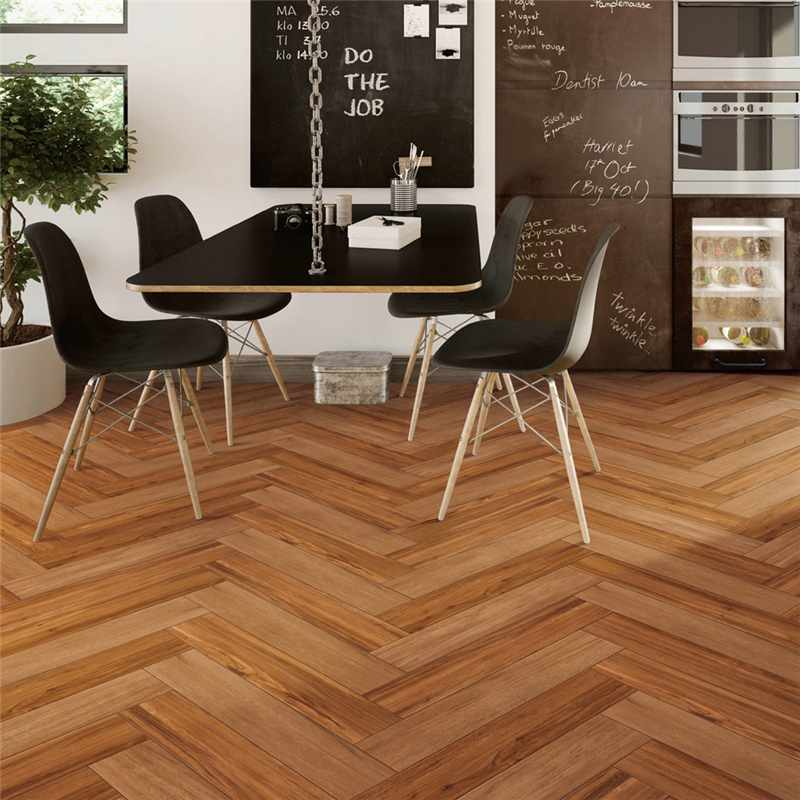 LONGFAVOR 150X800/6x32 Brown Wood-look Ceramic Tile PS158007 150x800mm Wood-look Ceramic Tiles image25