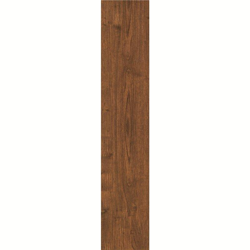 150x800mm Matt Room Dark Brown Wooden Ceramic Tile PS158405 Decoration