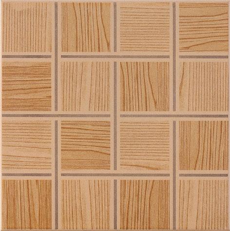 wooden 300x300mm Ceramic Floor Tile tile hardness Hotel-6