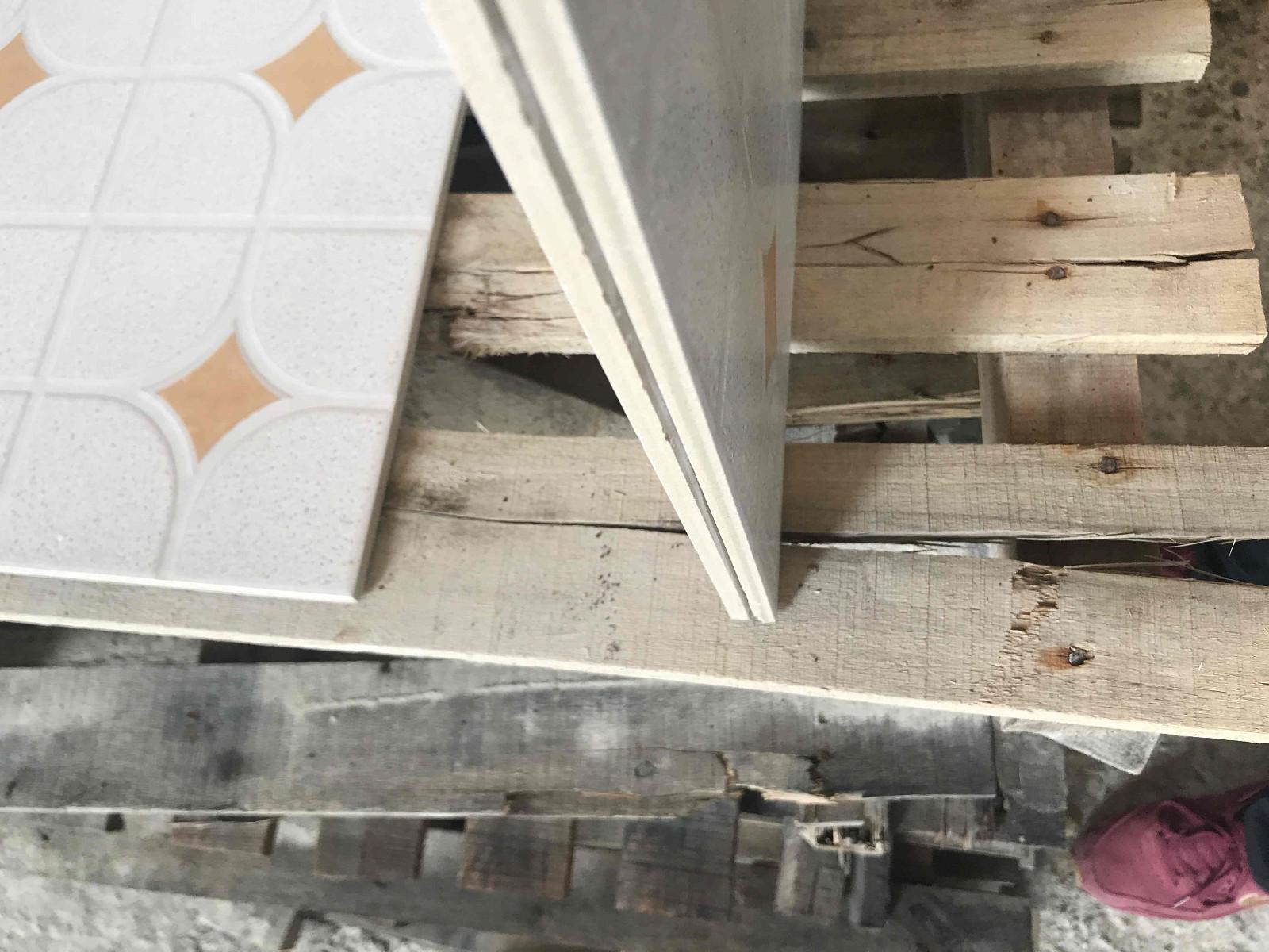 LONGFAVOR wooden 300x300mm Ceramic Floor Tile strong sense School-13