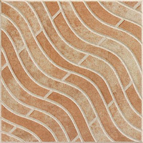 wooden 300x300mm Ceramic Floor Tile floor hardness School