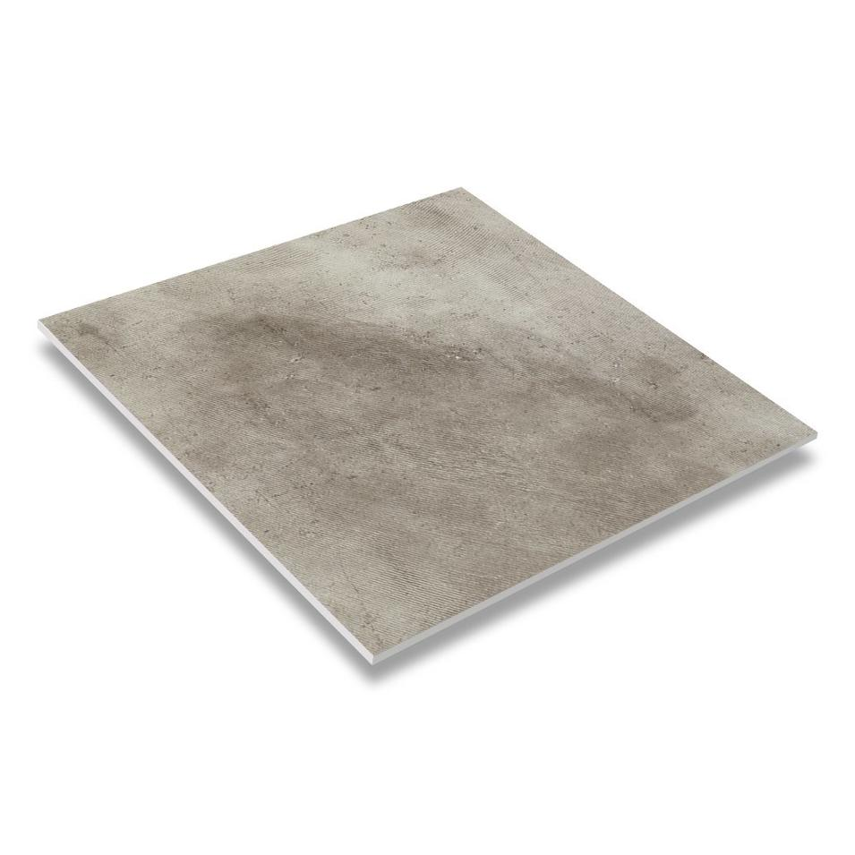 24''x24'' Light Grey R10 Non-slip Rough Mold Surface Rustic Floor Tile JC66R0E05