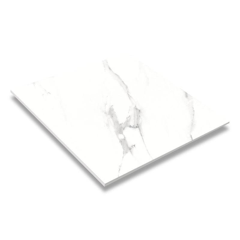 24''x24'' Glaze Bathroom And Kitchen Ceramic White Color Floor Tile JC66R0C02