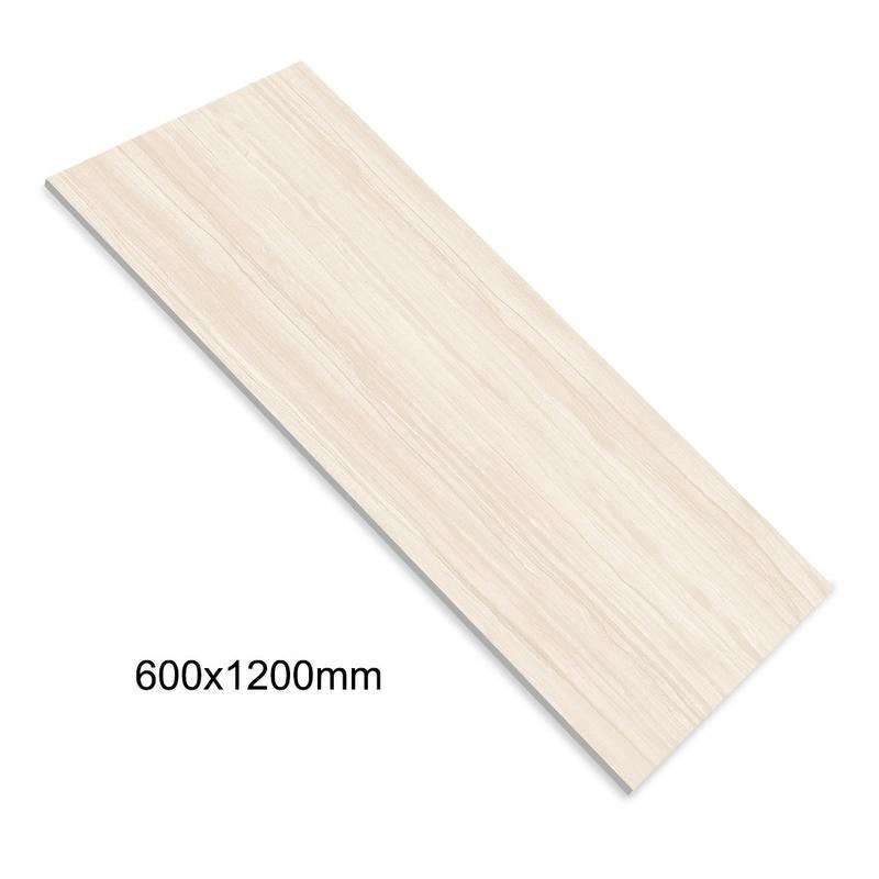 60x120 Beige Color Marble Design Polished Porcelain Floor Tiles For Bedroom Y12D6007