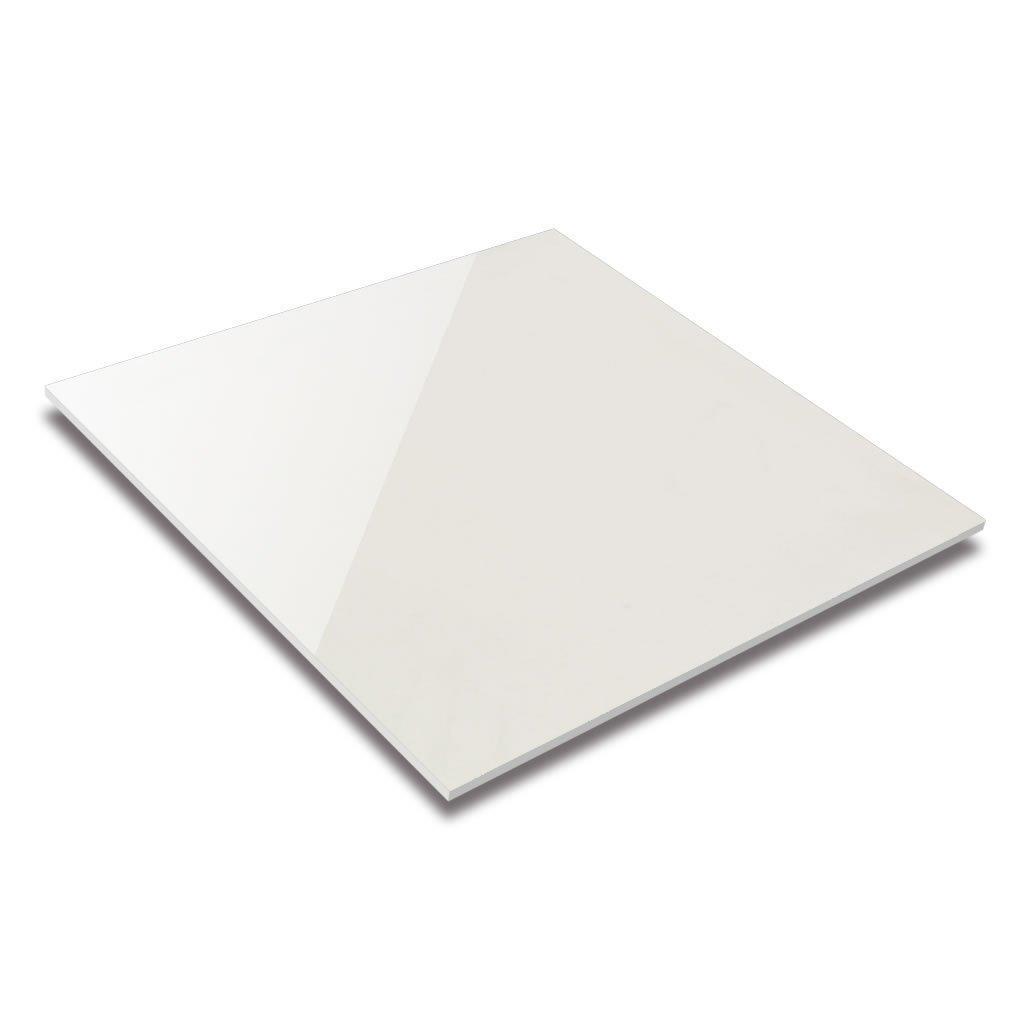 Super Black & Super White Polished Porcelain Tile