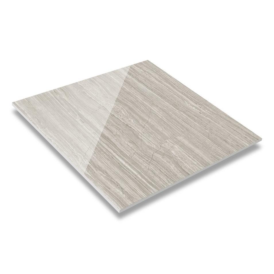 Grey Wooden 60x60 / 80X80 Matt/Glossy Finish Marble Look Tiles JA60803PMQ(M)
