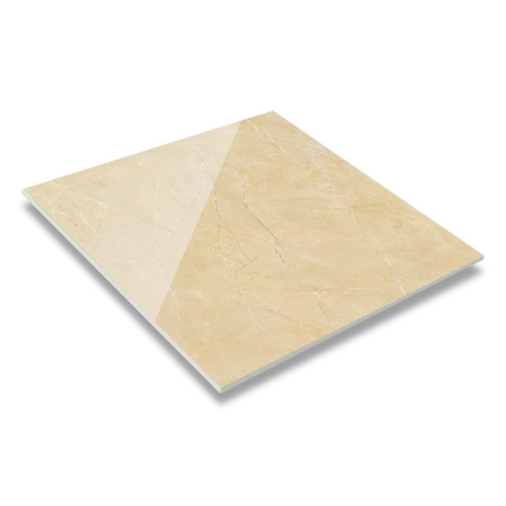 White Gold Beige 60x60 / 80X80 Matt/Glossy Finish Marble Look Tiles JA60863PMQ(M)