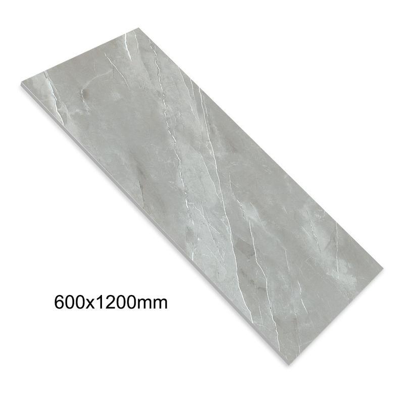 24''x48'' China Porcelain Floor Tiles Manufacturer Grey Color Daimond Glazed Marble Full Body Tile DN612G0A19