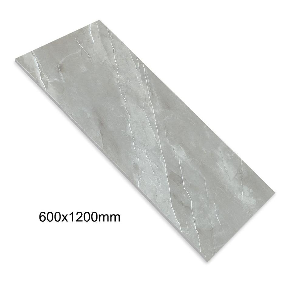 24''x48'' China Porcelain Floor Tiles Manufacturer Grey Color Daimond Glazed Marble Full Body Tile DN612G0A19