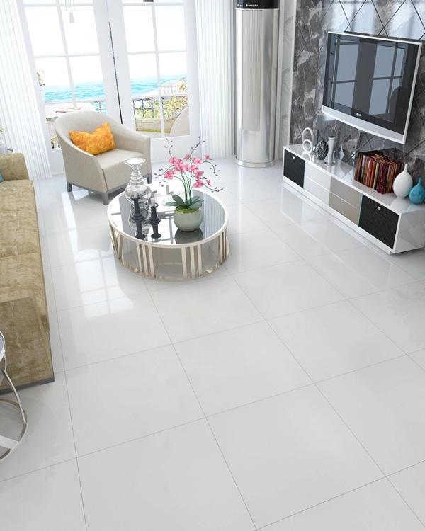 simple design Glazed Polished Porcelain Tile bm66g0a00 on-sale Apartment