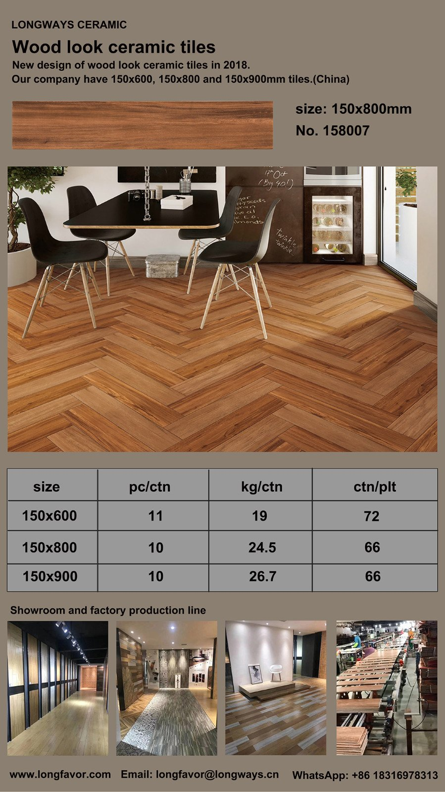How Is The Effect Of Wooden Ceramic Tiles Company News