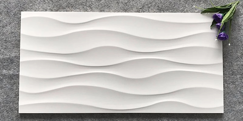 LONGFAVOR Ceramic Tiles 300x600mm Ceramic Wall Tile white Walls-4