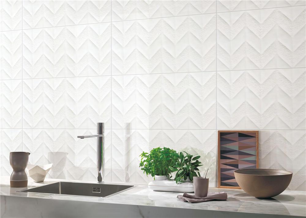 LONGFAVOR wave White Wave Carrara Wall Tile bulk production Walls-1
