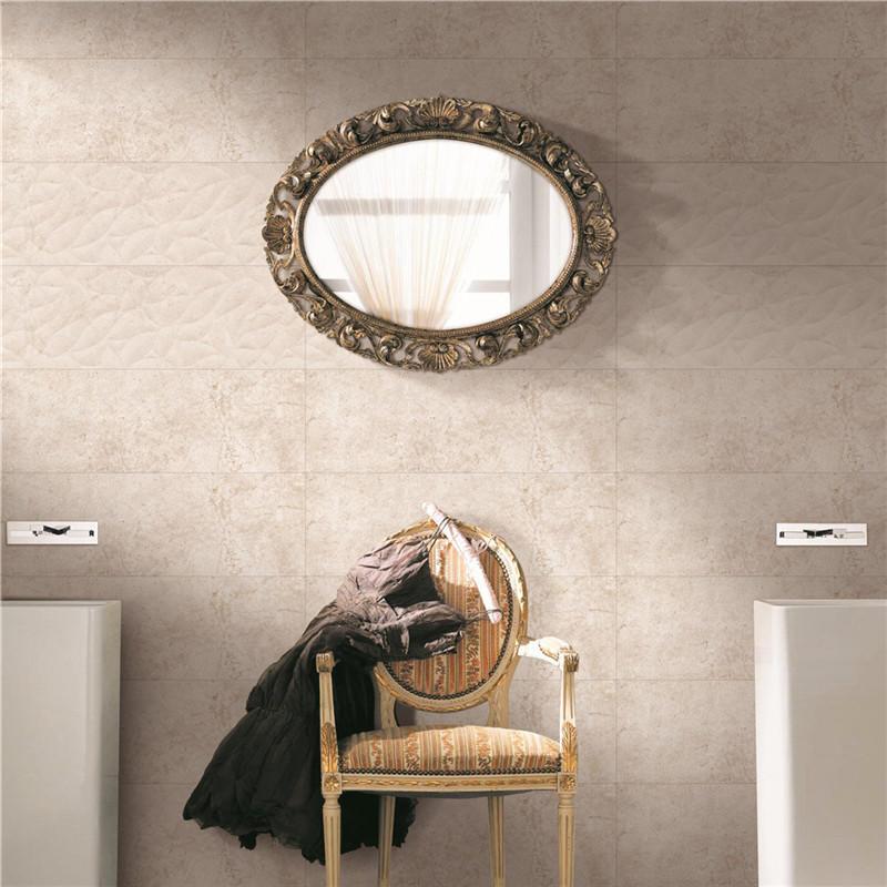 LONGFAVOR white wave 300x600mm Ceramic Wall Tile bulk production Borders