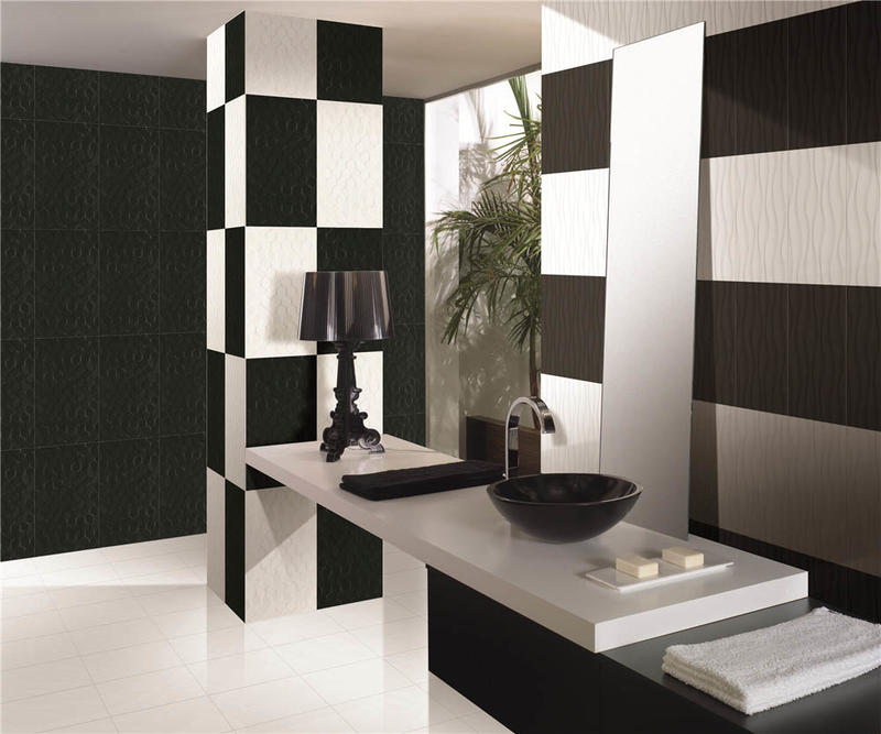 Modern design easy cleaning rustic bathroom kitchen ceramic wall tile