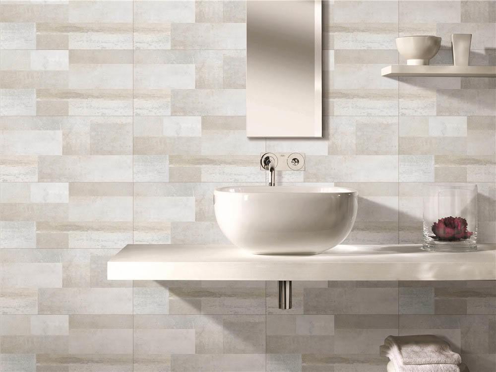 LONGFAVOR white wave 300x600mm Ceramic Wall Tile oem Walls