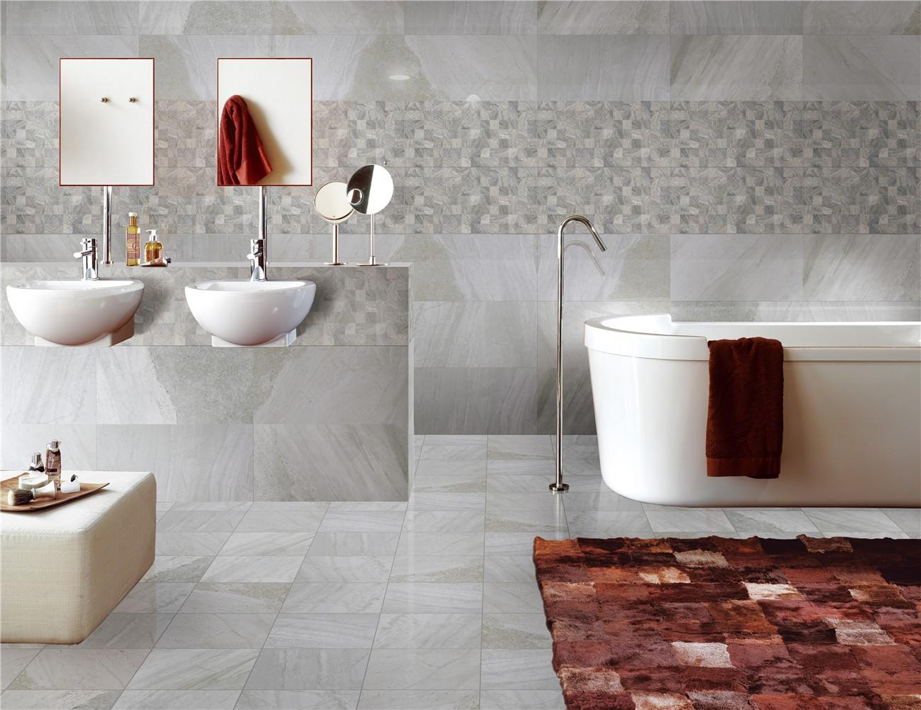 white wave 300x600mm Ceramic Wall Tile wave bulk production Borders