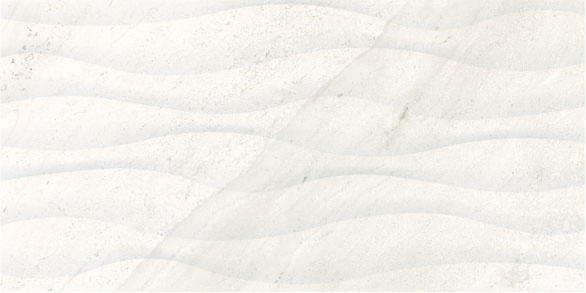 Wave 3D White shopping china design glazed ceramic wall and floor tile price