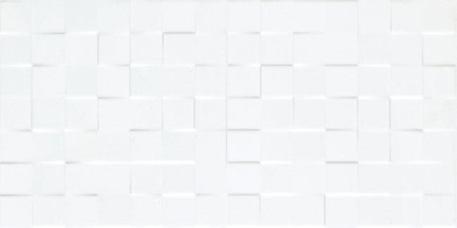 Smart decorative concrete tile white embossed ceramic tile