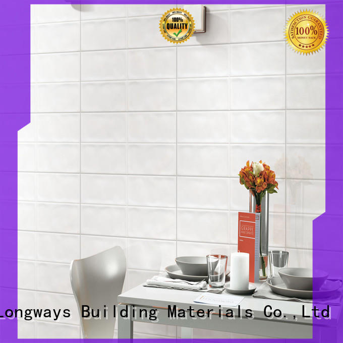white wave 300x600mm Ceramic Wall Tile wave bulk production Coffee Bars