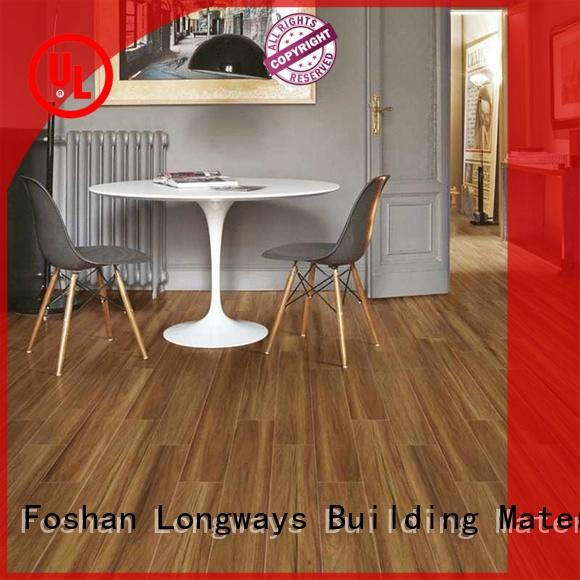 150x800mm Injet natural Brown Wood-look Ceramic Tile PS158008