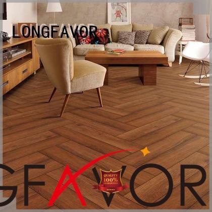 LONGFAVOR sz158407 ceramic tile wood look planks supplier Apartment