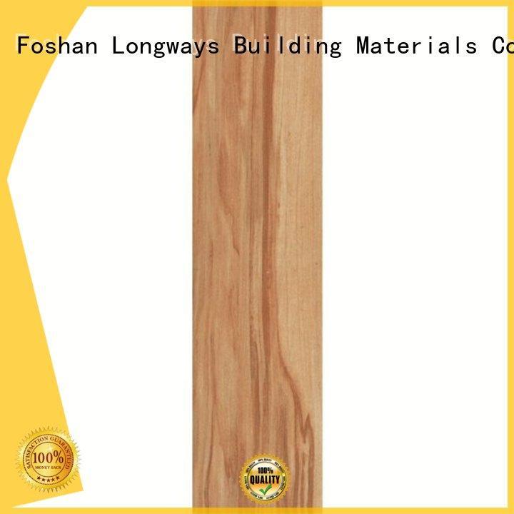 LONGFAVOR Brand screen wood look tile planks grade factory