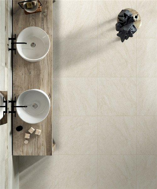 LONGFAVOR grey natural stone look porcelain tile get quote Walls-1