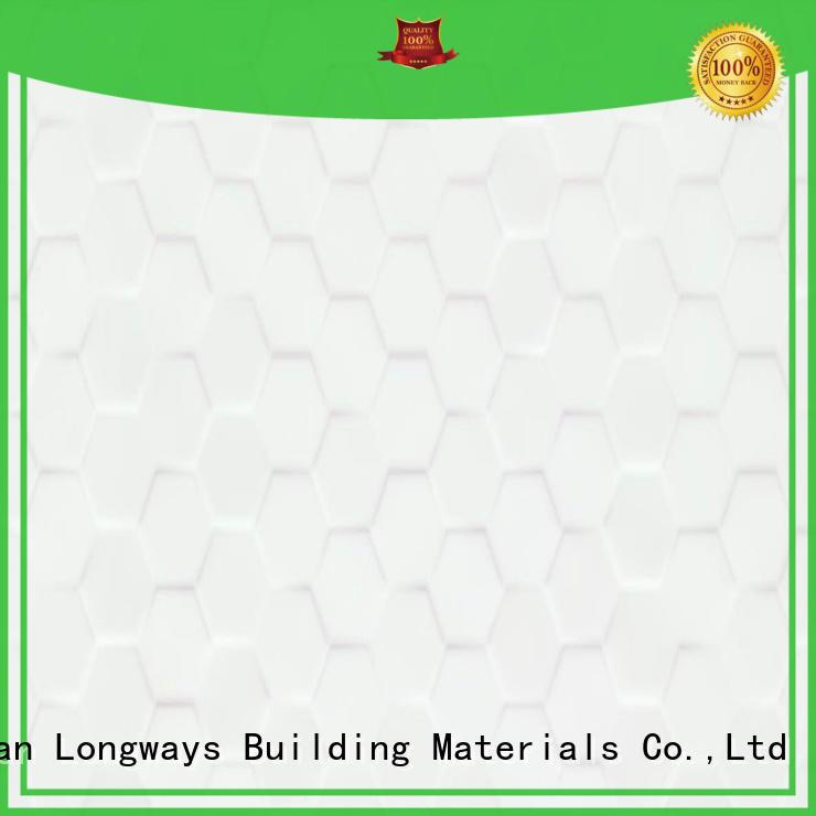 LONGFAVOR wave 300x600mm Ceramic Wall Tile oem Borders