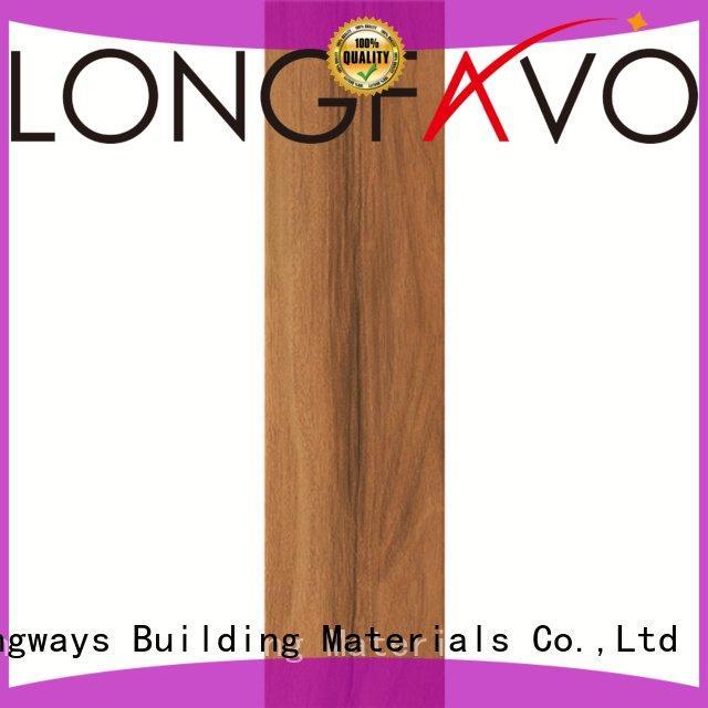Wholesale tile matt wood look tile planks LONGFAVOR Brand