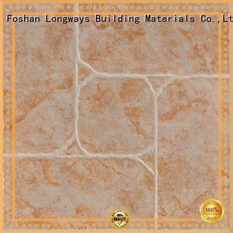 LONGFAVOR new design 300x300mm Ceramic Floor Tile strong sense Apartment