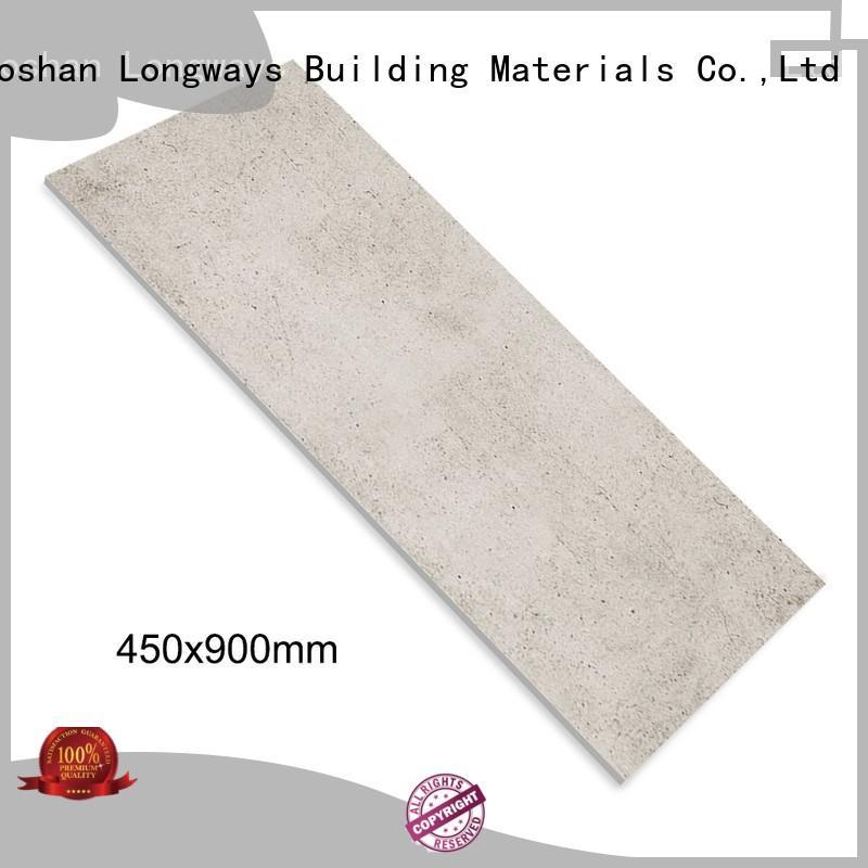 LONGFAVOR elegantavant-garde 450x900 Rustic Porcelain Tiles for wholesale Super Market