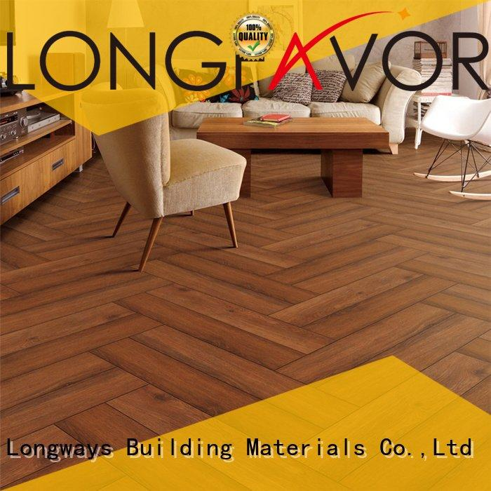 LONGFAVOR Brand wood look tile cost