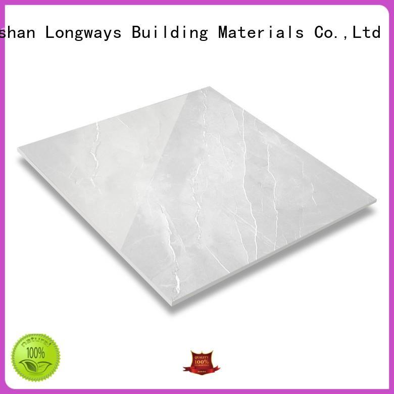 LONGFAVOR 3d diamond marble tile strong sense Apartment