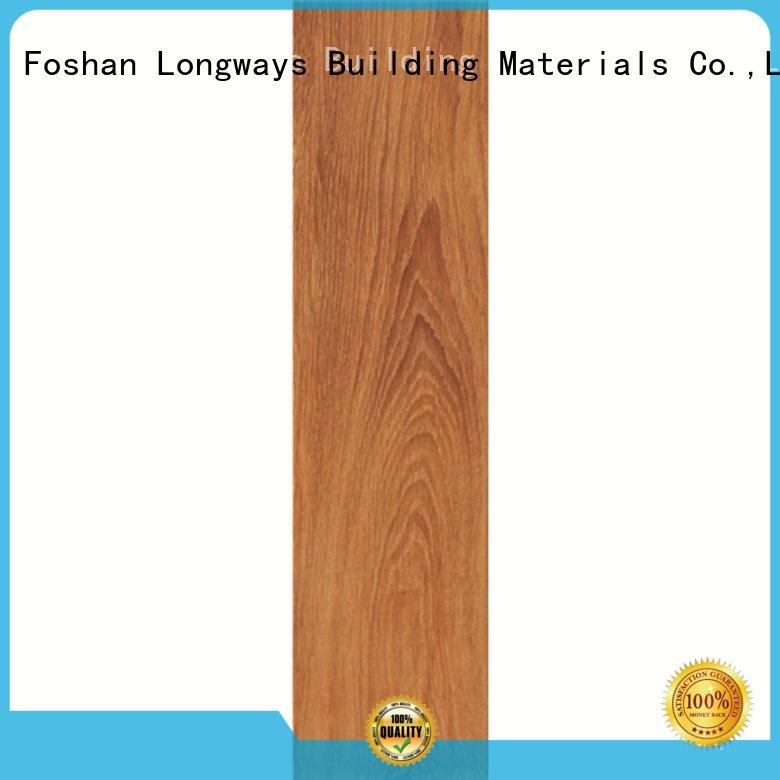 oak wood effect floor tiles floor look wood look tile planks LONGFAVOR Brand