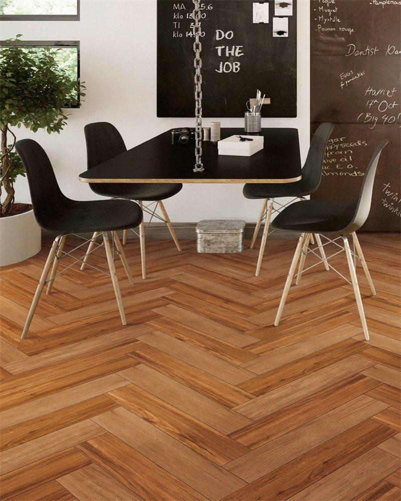 150X800/6x32 Brown Wood-look Ceramic Tile PS158007-1