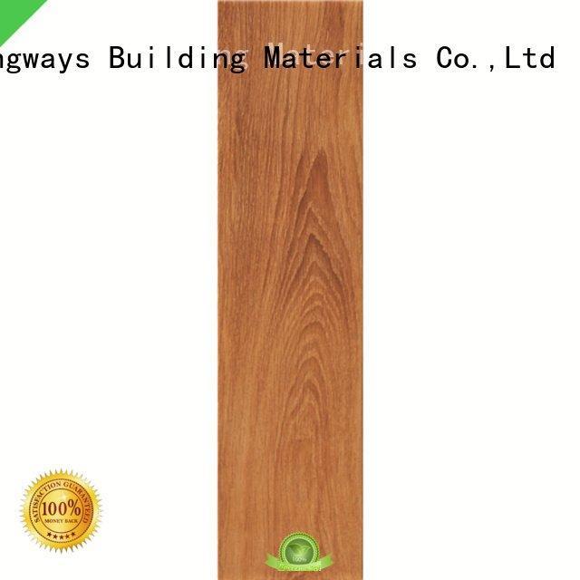 LONGFAVOR Brand color oak wood effect floor tiles tile look
