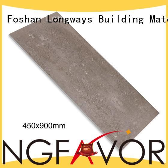 LONGFAVOR elegantavant-garde 450x900 Rustic Porcelain Tiles for wholesale Shopping Mall