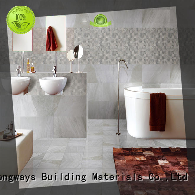 carrara Tile 300x600mm Ceramic Wall Tile 236b1070 bulk production Coffee Bars