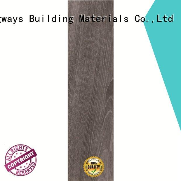 LONGFAVOR Brand dark woodlook matt wood look tile planks light