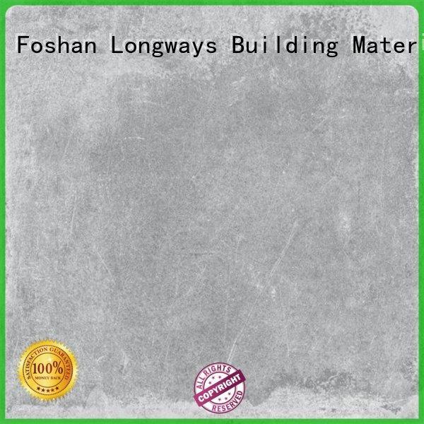 LONGFAVOR modern disign cement porcelain tile high quality Shopping Mall