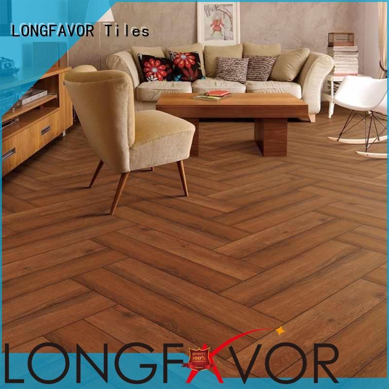 LONGFAVOR ps158405 wood texture floor tiles popular wood Hotel